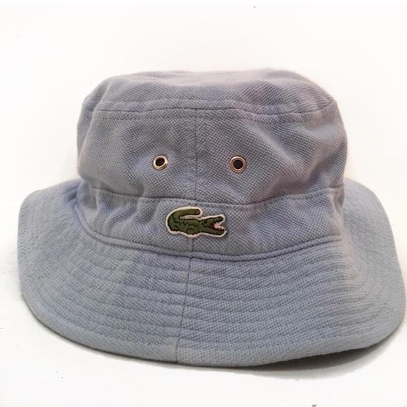 794b0cc5 Lacoste Accessories | Light Blue Baby Bucket Hat | Poshmark